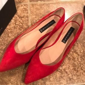 NEW IN BOX - Steven by Steve Madden Red Flats